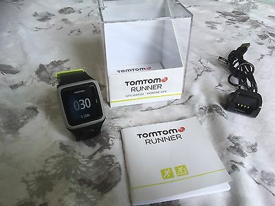 Tom Tom Sports GPS Runner Watch - Grey. Excellent Condition