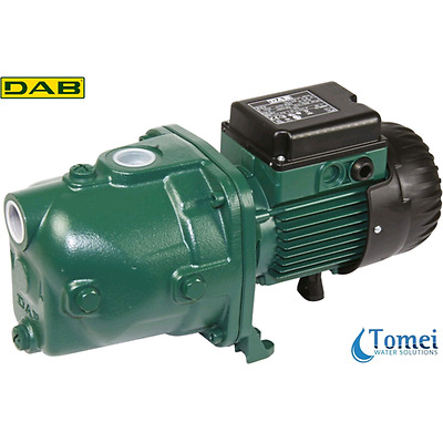 Self-Priming Electro Water Pump in Cast-Iron JET 82 T 0,6KW 0,8HP 400V DAB