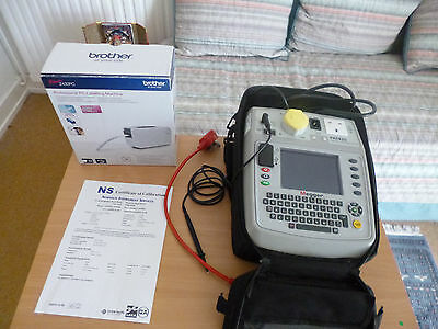 Megger PAT 420 Tester Complete with Printer, leads, software