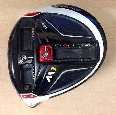 TOUR ISSUE Left Handed TaylorMade M1 460 10.5° Driver HEAD ONLY with Headcover