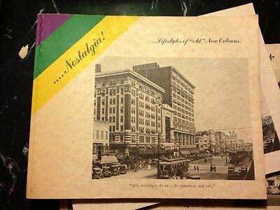 SIGNED Nostalgia Lifestyles of Old New Orleans Book Maison Blance Cover