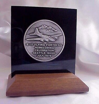 1979 BMA  B-17 Flying Fortress Homecoming Celebration Seattle Medallion