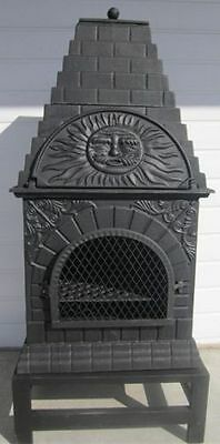 Medium Cast Iron Pizza Oven/Chiminea/Patio Heater/BBQ / free collection