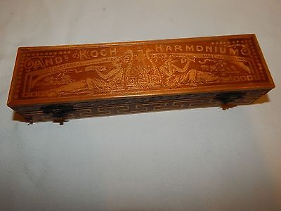Vintage ANDs KOCH Germany Harmonium WOOD BOX/CASE ONLY....