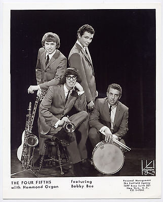 THE FOUR FIFTHS vintage 8x10 photo *RARE* Sixties 1960s NYC New York Garage Rock