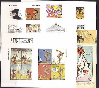 Greece 2005  Caricature [6 Stamps + 14 Labels ]    X   20 Set  Mnh