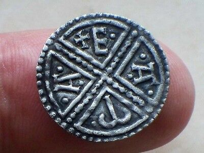 L@@K Excessively Rare Anglo-Saxon Coenwulf Group 1 Silver Penny Moneyer EAMA