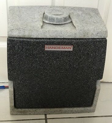 TEAL HANDEMAN 12V PORTABLE HOT WATER HAND WASH Sink , Mobile Sink