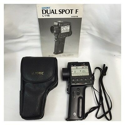 [Excellent+++] Sekonic Dual Spot Meter F L-778 Light Meters from Japan 1202