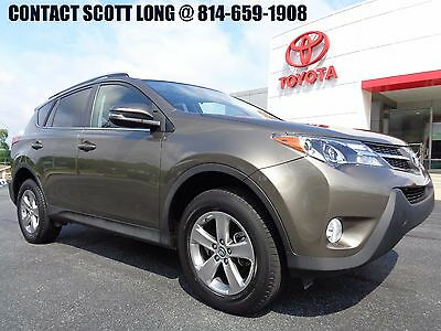 2015 Toyota RAV4 2015 XLE All Wheel Drive Pyrite Mica Paint Toyota Certified 2015 Rav4 XLE AWD Pyrite Mica Power Sunroof 1Owner Clean Carfax