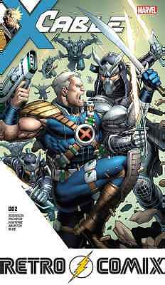 Marvel Cable #2 First Print New/unread Bagged & Boarded