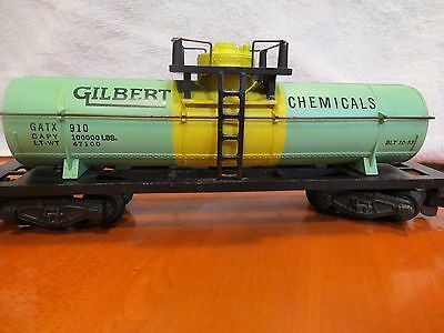 American Flyer #910  Gilbert Chemical Tank Car