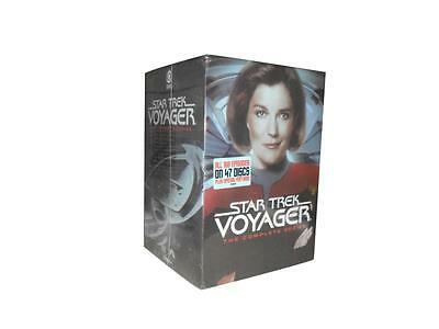 Star Trek: Voyager - The Complete Series Seasons 1-7 (DVD, 2017, 47-Disc Set)