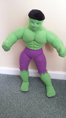 the incredible hulk soft toy