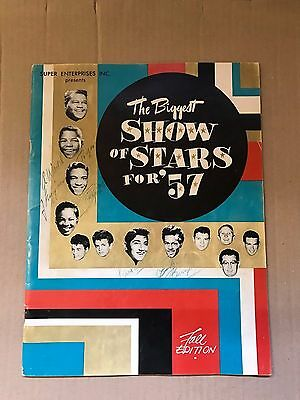 The Biggest Show Of Stars 57 - Signed By Eddie Cochran,buddy Holly +++++++ -