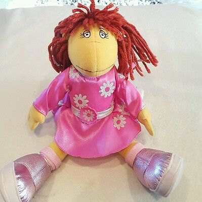 "Tweenies fizz plush Fizz soft toy doll 12"" CBBC doll posable doll"