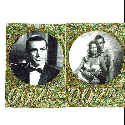 James Bond 50th Ann Series 1 & 2 Sparkly Foil Parallel Cards Singles Selection