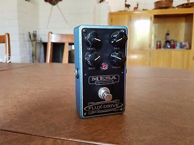 Mesa Engineering Flux-Drive Overdrive Guitar Effects Pedal P-00812