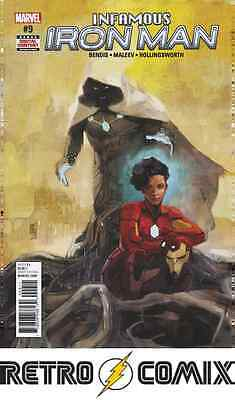 Marvel Infamous Iron Man #9 First Print New/unread Bagged & Boarded