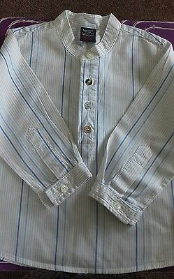 Baby Boys Shirt NEXT 12-18 Months Wedding Christening Special Occasion