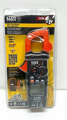 Klein Tools 600A AC Auto-Ranging Digital Clamp Meter CL700