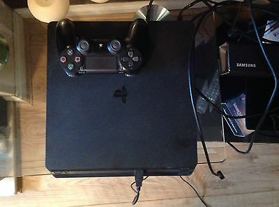 Sony PS4 Slim 1 TB and fifa 17 excellent condition