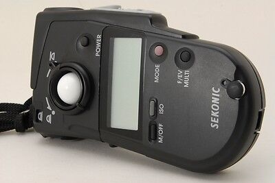 【Near Mint+++++】Sekonic Multimaster Model L-408 Light Exposure Meter Japan #165
