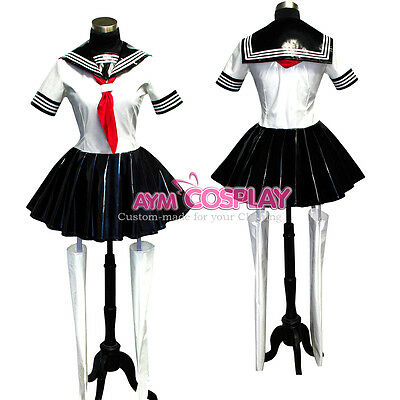 PVC Vinyl dress Japanese school uniforms outfit CD/TV Tailor-made[U66]