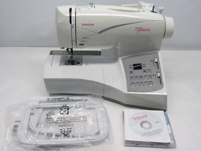 Singer Futura CE 200 Sewing Embroidery Machine Computerized Fix or Parts