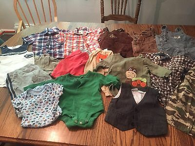 6-9 and 12 Months Baby Boys Summer Clothes Lot