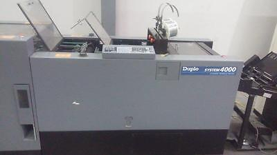 Duplo 4000 Booklet Maker & Trimmer with DC-10000S Collator