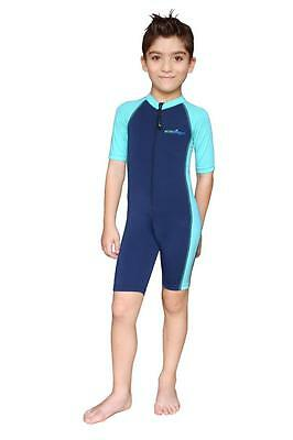 Boys UV Sun Protection One Piece Surf Swimsuit Chlorine Resistant