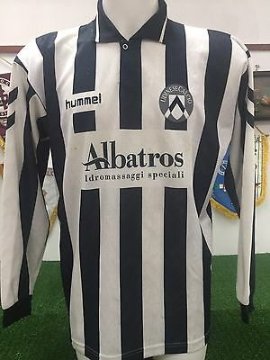 Maglia Udinese 1994 95 Long Sleeve Match Worn Shirt Jersey  Trikot Calcio