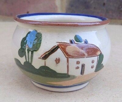 WATCOMBE Motto Ware Small Pot - Many Friends Few Helpers