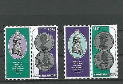 Cook Islands -1974- Bi Centenary Of Captain Cook - Scarce.