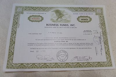 Lot Of 5 Stock Certificates Of Different Amounts And Sizes