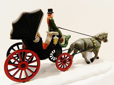 """Dept.56  Heritage-Christmas In The City """"central Park Carriage""""   #59790"""