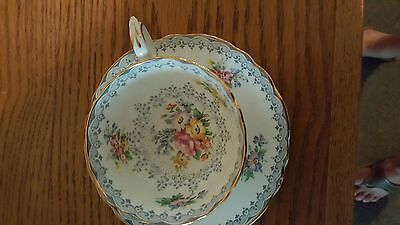 staffordshire tea cup and saucer
