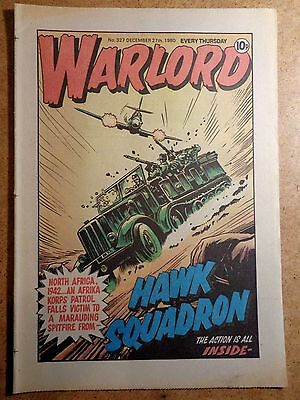 Warlord Comic No.327 December 27th 1980 War Action Vintage British Comics