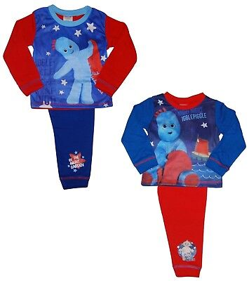 Boys In the Night Garden Iggle Piggle Pyjamas 12-18 18-24 Months 2-3 3-4 Years
