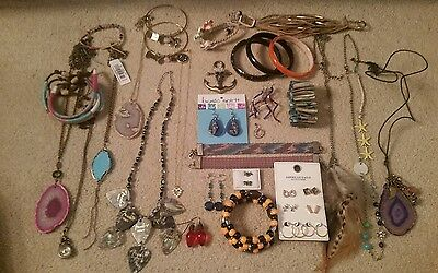 Jewerly lot! American Eagle, Express, Buckle! 38 pieces! Free shipping!