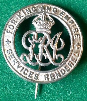 Ww1 Silver War Badge,s.qm.sjt / Wo.cl.2.guy,19Th Hussars, Discharged Age 62