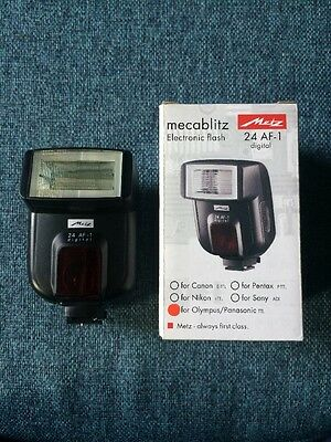 Metz Mecablitz 24 AF-1 Shoe Mount Flash - Olympus/Panasonic Fit