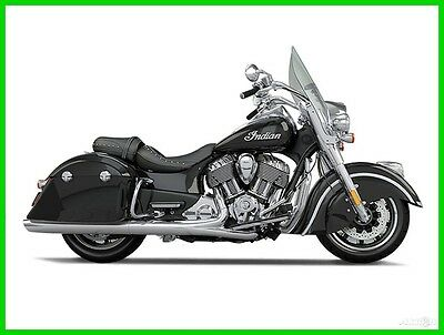 Indian Springfield  2016 Indian Motorcycle Springfield Thunder Black New