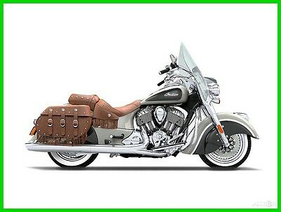 Indian Chief  2016 Indian Motorcycle Chief Vintage Star Silver And Thunder Black New