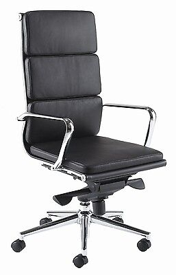 Office High Chair Leather Computer Director Manager Boss Client Room Boardroom
