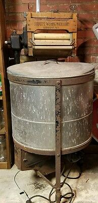Vintage Working Syracuse Copper Antique Ringer Washer Early 1900's