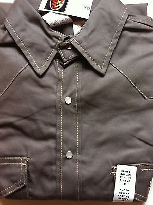 Rasco FR  Gray Lightweight FLAME RESISTANT Work Shirts NWT