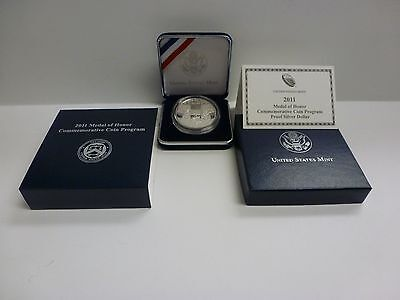 2011 US Mint Medal of Honor Commemorative Silver Dollar - Proof #6