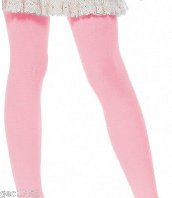 (2) pair Girls PINK tights pantyhose  Size 18-36 mo 1T-2T (23-33 lbs) NEW